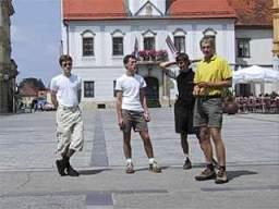 4 boys in Varaždin