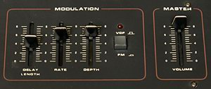 Crumar Performer, Modulation